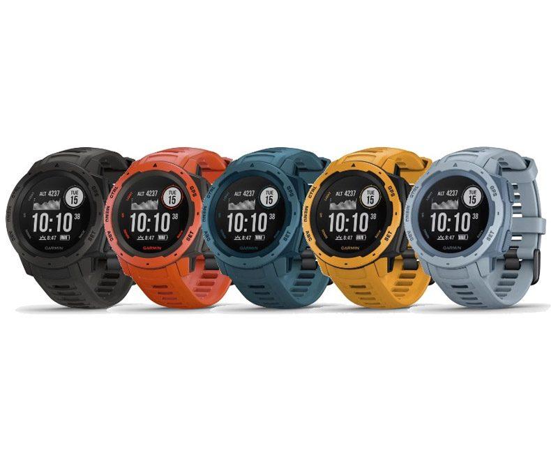 Garmin Instinct GPS, sporthorloge en hartslagmeter