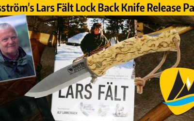 Casström's Lars Fält Lock Back Knife Release Party