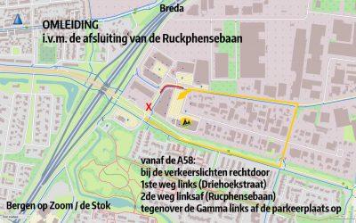Wegomlegging Rucphensebaan